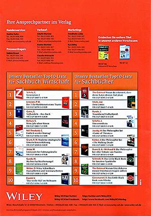 Bestseller Top 10 Liste